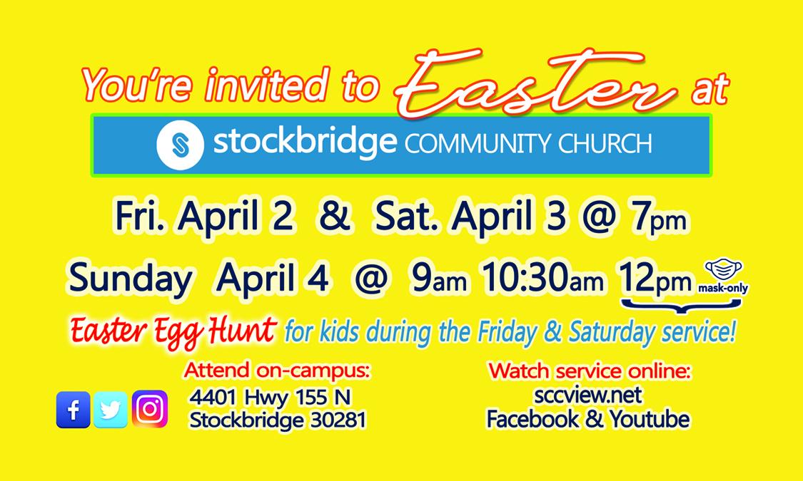 Easter Digital Invite Card